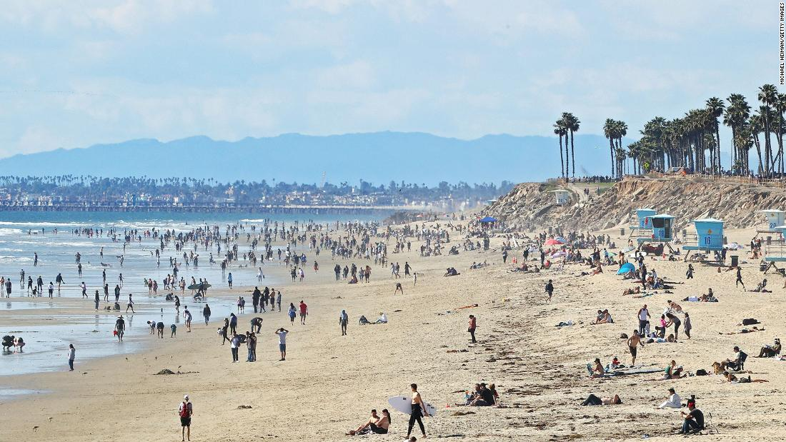 Californians Flock to Newly Opened Beaches