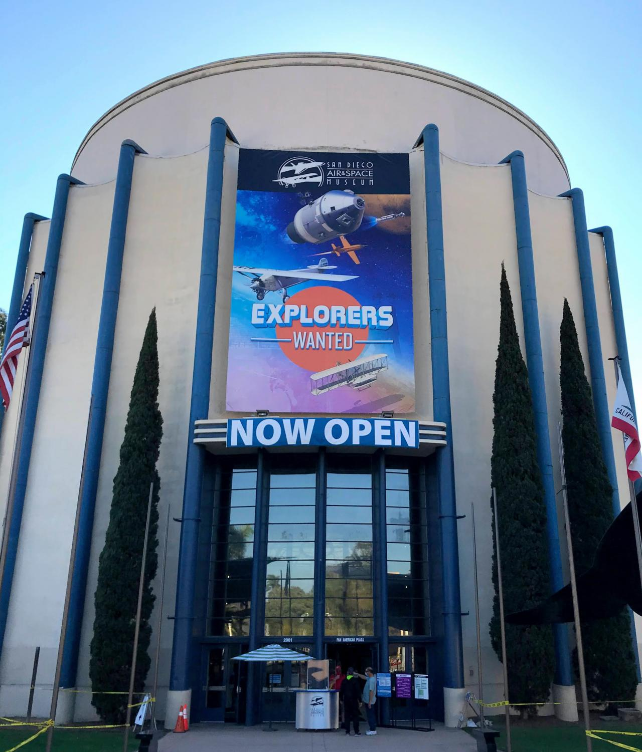 San Diego Air and Space Museum Announces They are Reopened