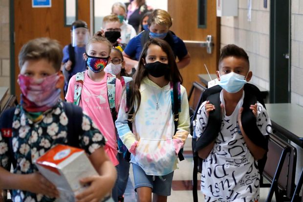 Elementary schools heading back on campus