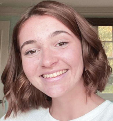 """""""I would much prefer to go to school again since online is overall much harder and causes me to struggle a lot more.I miss my socializing very much since I really treasure talking to my friends every day and getting to have such fun interactions."""" -Junior Annalie Tutt"""