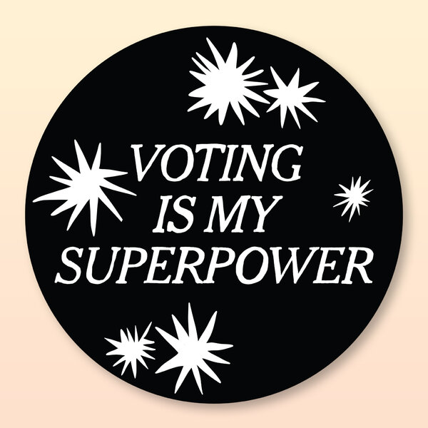 As voting from home increases, some groups are even creating digital stickers for voters to download.