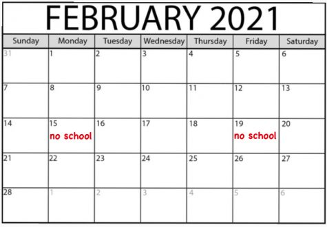PUSD decides to Shorten February Break