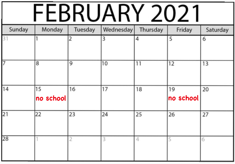 PUSD decides to Shorten February Break