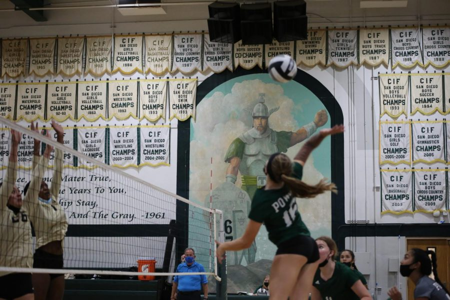 Volleyball drops home match to Westview