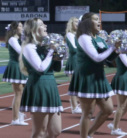 Cheer stays positive through unexpected changes