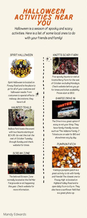 Halloween activities near you